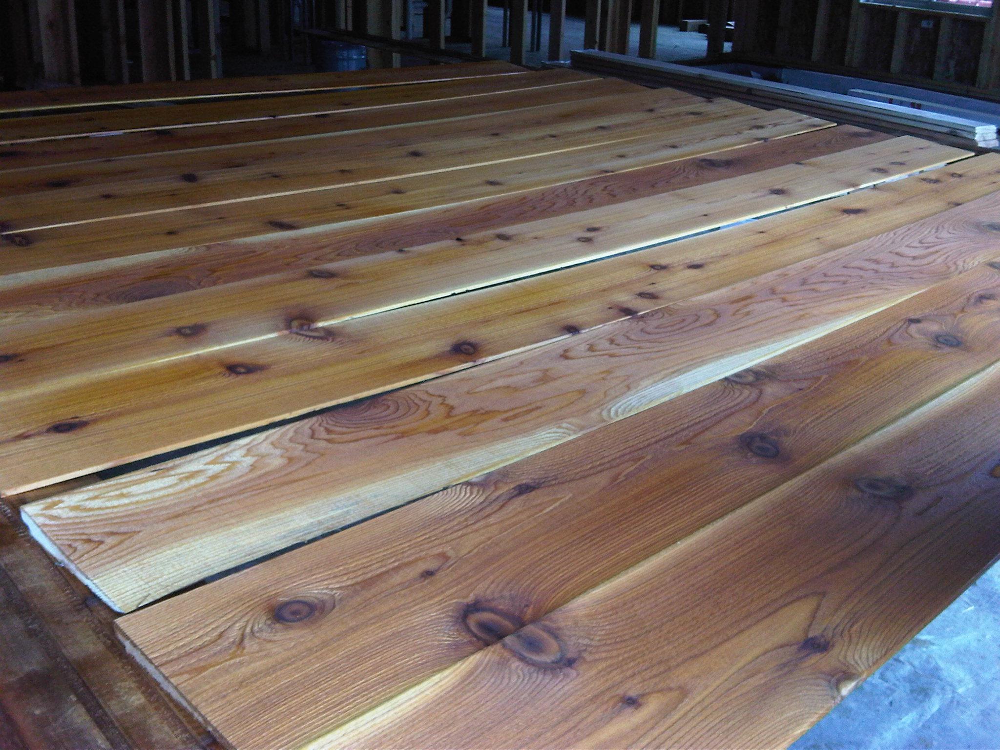 cedar siding for the columbia crest house