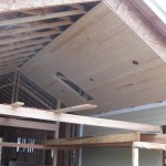 Paradise Vista Lot 16-back patio ceiling installed