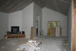 drywall in Great Room at Paradise Vista lot 16