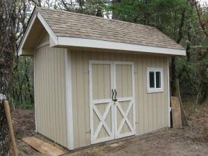 103 Columbia @ Paradise Vista-Grants Pass-Shed is finished