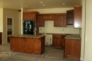 Granite in kitchen Lot 16-Paradise Vista