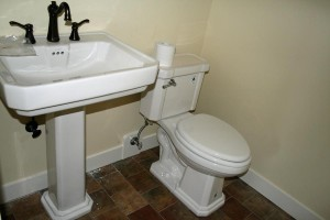powder room sink/toilet are in 103 Columbia Crest-Paradise Vista