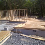 130 Columbia - walls going up-May 2012
