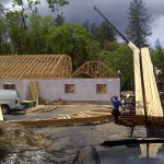 Lot 4-Paradise Vista Roof Trusses delivered
