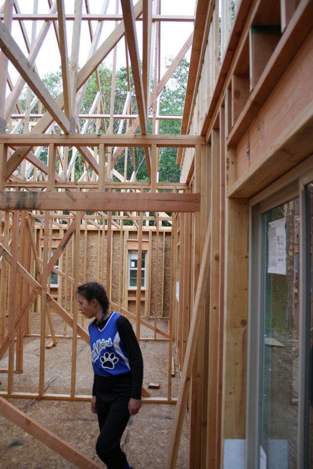 Clark-All windows & some doors have been installed- slider