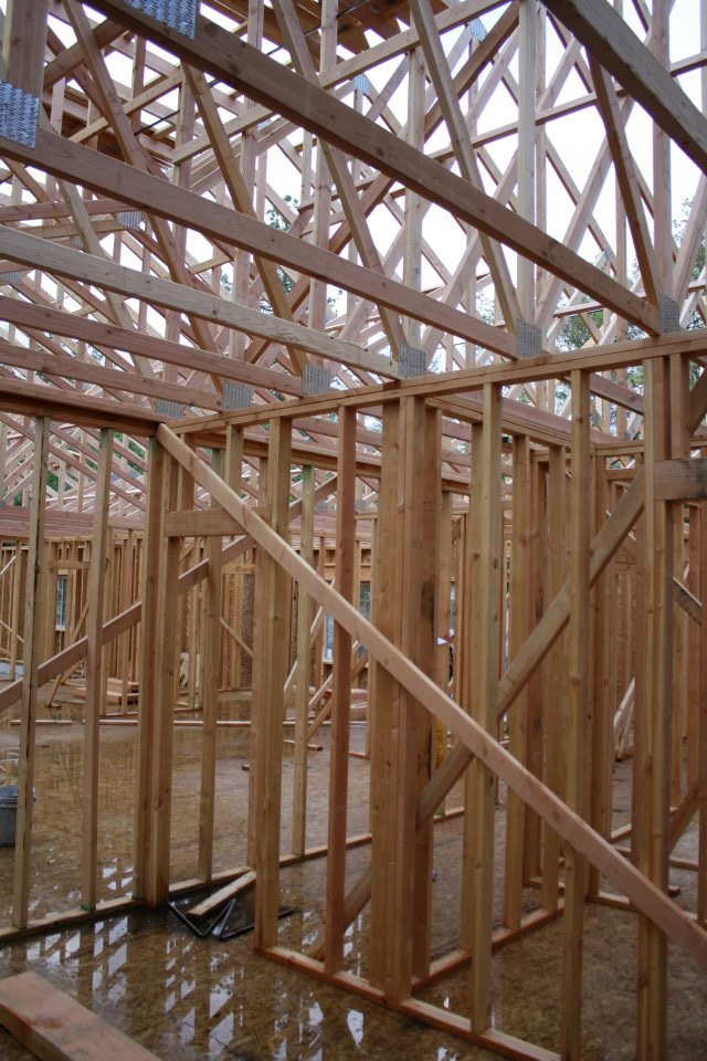 Clark- interior framing complete