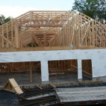 lot 4-view of 3-car garage & bonus room above