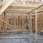lot 4-view of framing inside garage